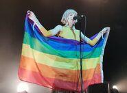 Aurora LGBT flag