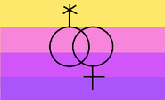 Alternate design to the trixic flag