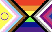 Intersex ace bisexual inclusive progress flag By loving-intellectual