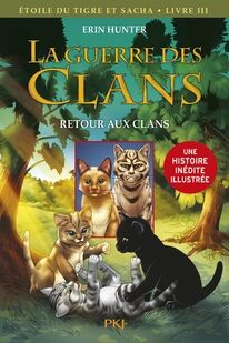 Premiere de couverture Retour aux Clans