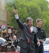 Rick Perry and a Gun