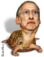The Kentucky Crying Turtle, Mitch McConnell