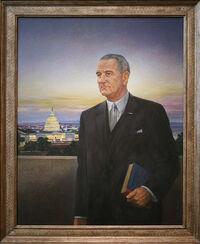 Lyndon Baines Johnson, Thirty-sixth President (1963-1969).jpg
