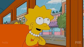 Lisa Simpson prays to Buddha, .jpg