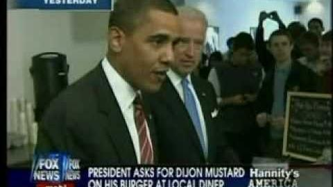 Hannity Attacks Obama For Putting Mustard On His Burger, More Fair and Balanced Reporting