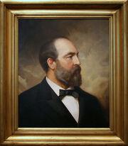 James Abram Garfield, Twentieth President (March-September 1881).jpg