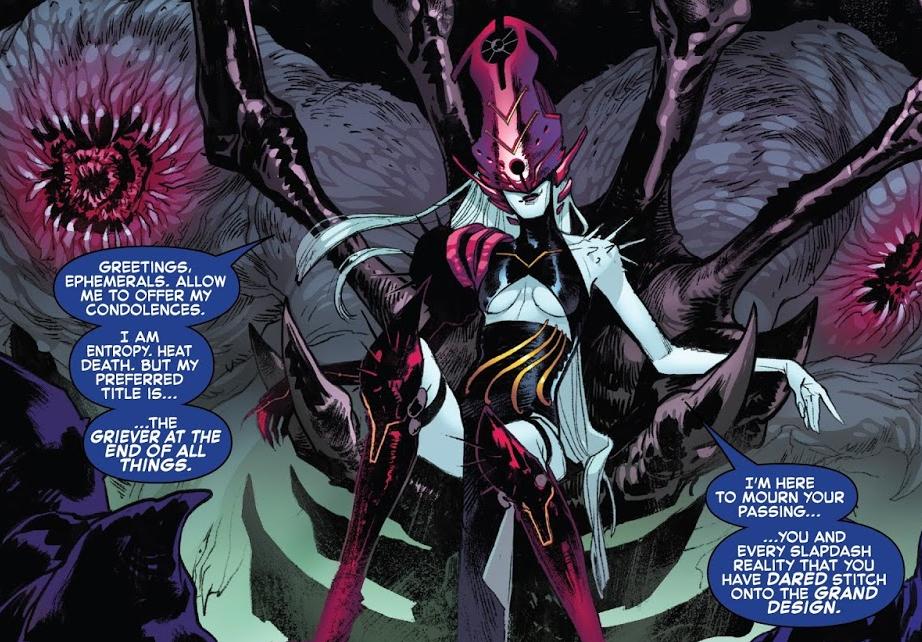 Griever no Fim de Todas as Coisas (Marvel Comics)