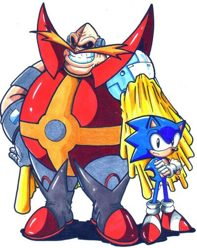 Archie dr ivo robotnik and sonic cl by trunks24-d5agwke.jpg