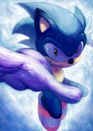 Sonic the hedgehog by ry spirit-d6z0xr3