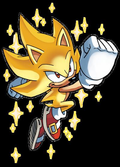 Archie Super Sonic render.png