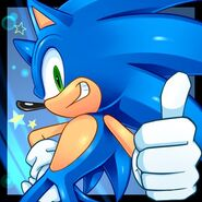 Sonic the hedgehog blue hero by cristianharold0000-d5dzhym