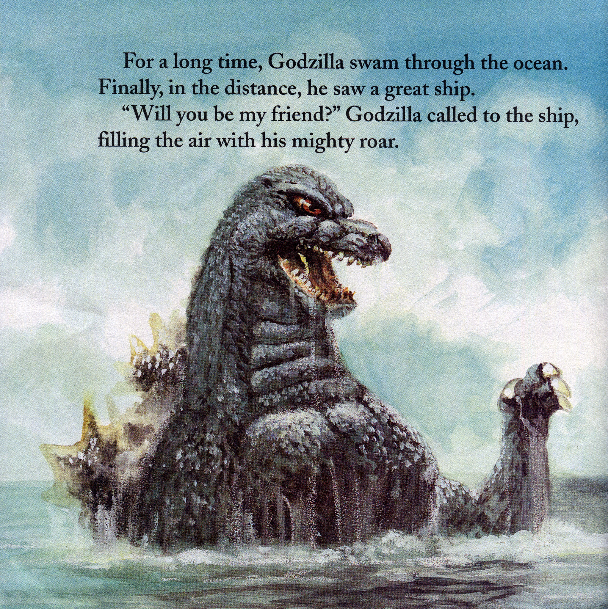 Godzilla (Random House Picture Books)