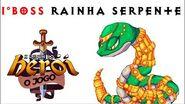 Luta contra a Rainha Serpente
