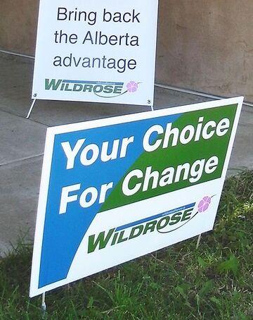 475px-Wildrose Alliance promotional signs.jpg