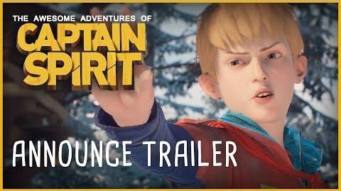 Tráiler del anuncio de Captain Spirit E3 2018