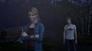 Chloe vai até Rachel