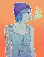 Chloe-smoke