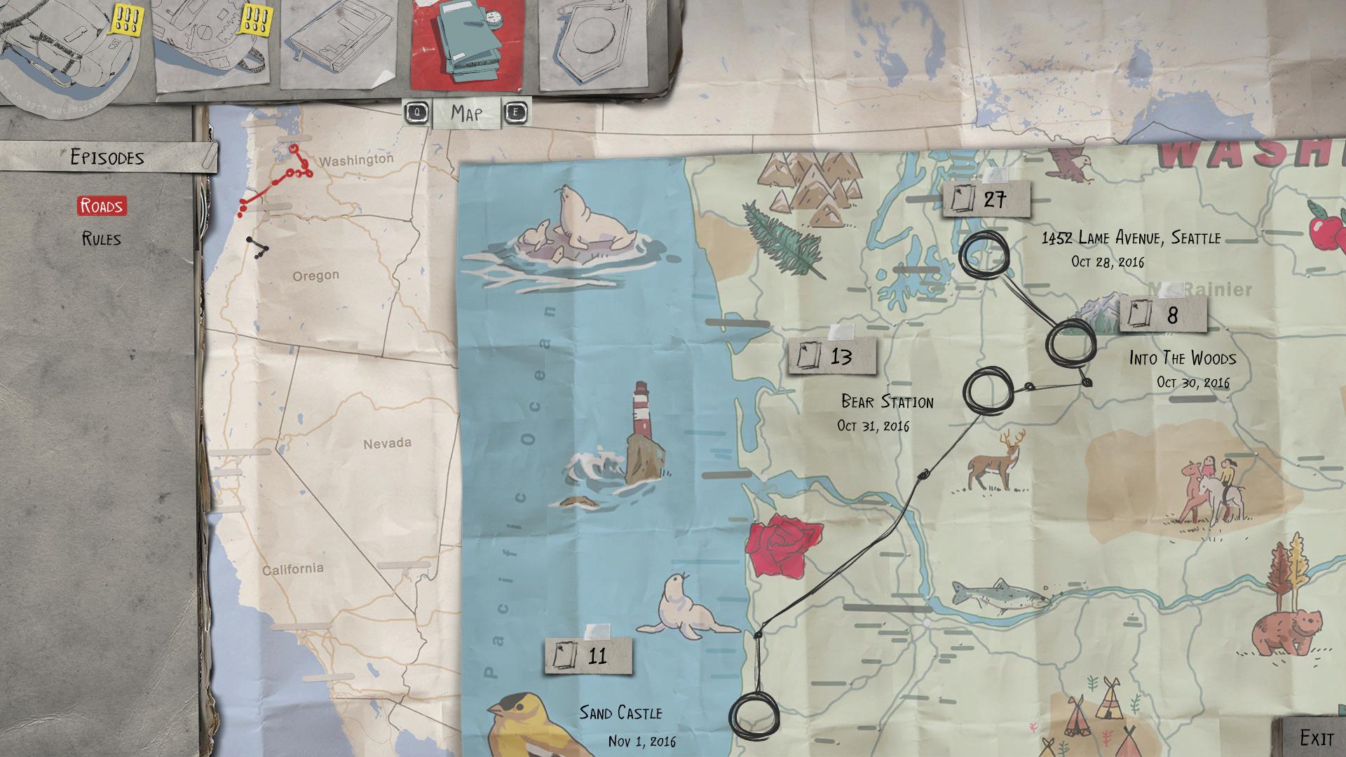 Sean's Map