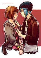 Max and Chloe by Yuriandtea