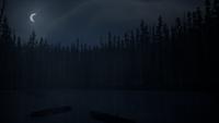 Drifters' Camp Lake (Night) 03