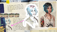LiS1 Early Chloe Concept Journal