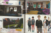 Pages 5 and 6 Art Book