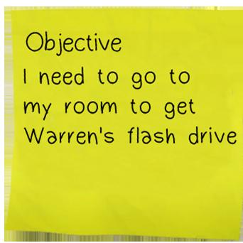 Objectives (Season 1)