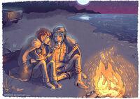Max and chloe bonfire by maarika