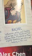 Timeline Rachel