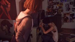 Life is strange review screen