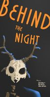 Behind the night poster