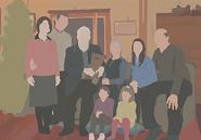 Hank and Doris Stamper family portrait