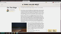 Stephen's Laptop - A Tribe Called West - On The Edge by Brody Holloway 02