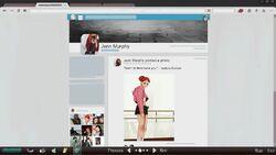Jenn pagina da rede social