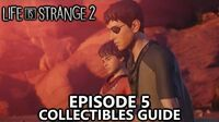 Life is Strange 2 Episode 5 - All Collectibles Guide - Speck of Dust Achievement Trophy