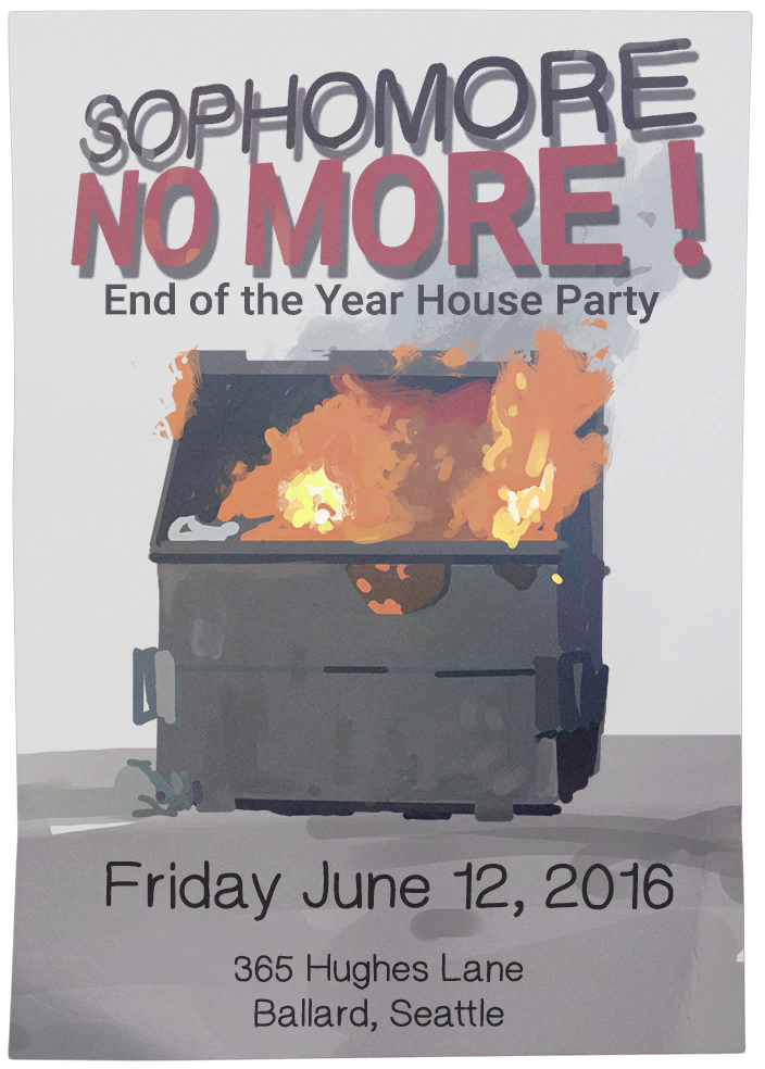 End of the Year House Party (June 12, 2016)