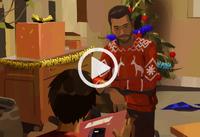 Three Seals Motel - Esteban & Daniel Diaz Christmas home video