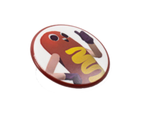Square Enix Store - Hawt Dawg Man Button Reward