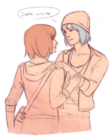 Max and Chloe by marin-everydaybox