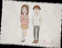 Lisbeth's House - Sarah Daniel Drawing