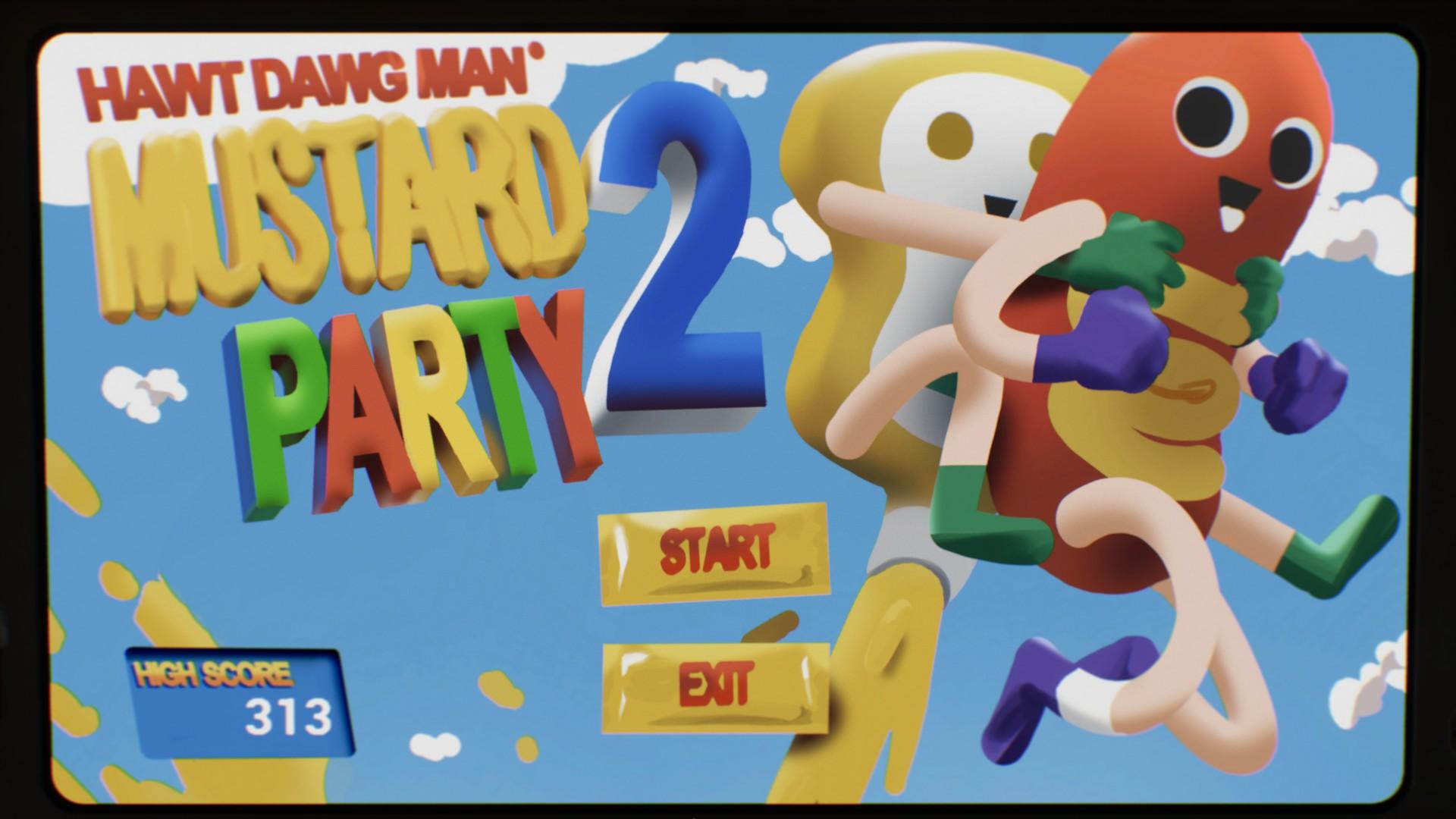 Hawt Dawg Man: Mustard Party 2