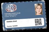 Karen - Sports Club ID