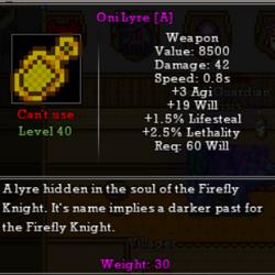 Oni Lyre