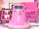 Shoe-Vacuuming Robot