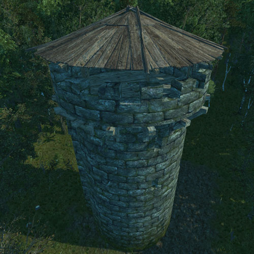 Castle Angular Tower Official Life Is Feudal Wiki