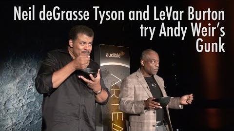LeVar_Burton_and_Neil_deGrasse_Tyson_Eat_Andy_Weir's_Gunk
