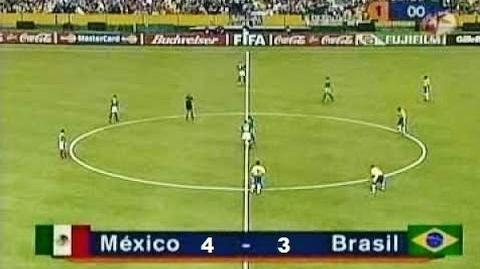 México vs Brasil 4-3 FIFA confederaciones 1999