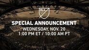2020 MLS All-Star Game Special Announcement