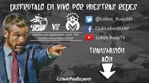 Lobos Buap vs Monarcas