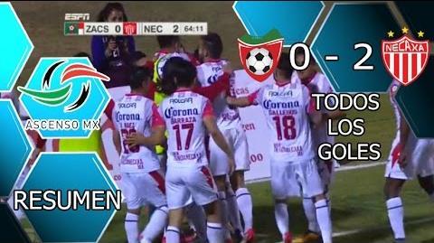 MINEROS DE ZACATECAS VS NECAXA 0-2 GOLES RESUMEN FINAL DE IDA ASCENSO MX Clausura 2016 HD